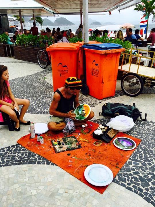 Art in Copacacabana