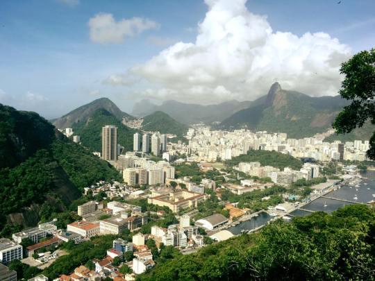 View over Rio De Janiero