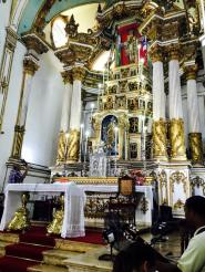 The interior of Bonfim