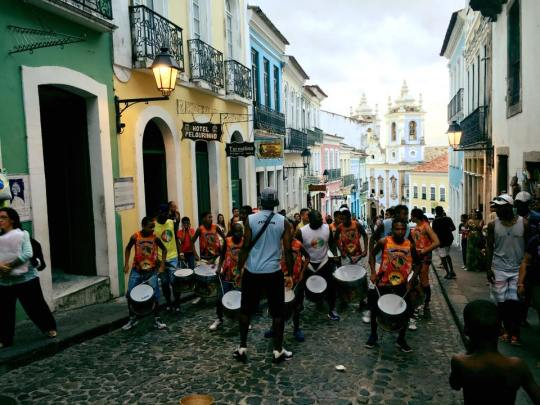 Drummers of Pelourinho- inspired by MJ's They Don't Really Care About Us