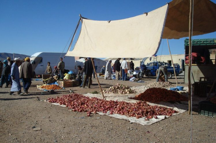 Berber nomadic market