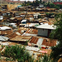 A Walk  Through Kibera-A Nairobi Slum