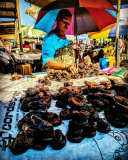 Muzungu at Maramba Market